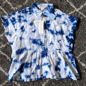NWT Rachel Zoe Tie-Dye shirt sz:S